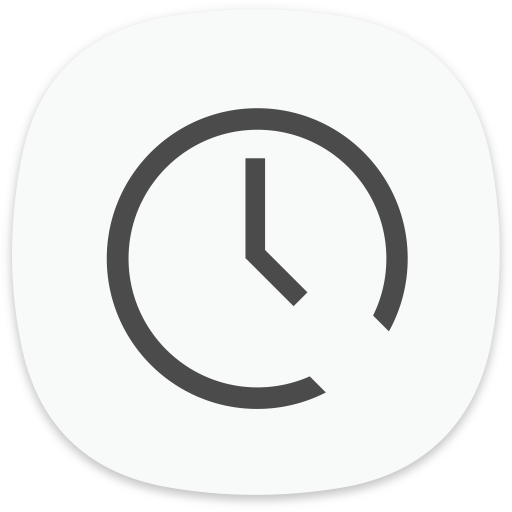 Clock Icon of Flat style.