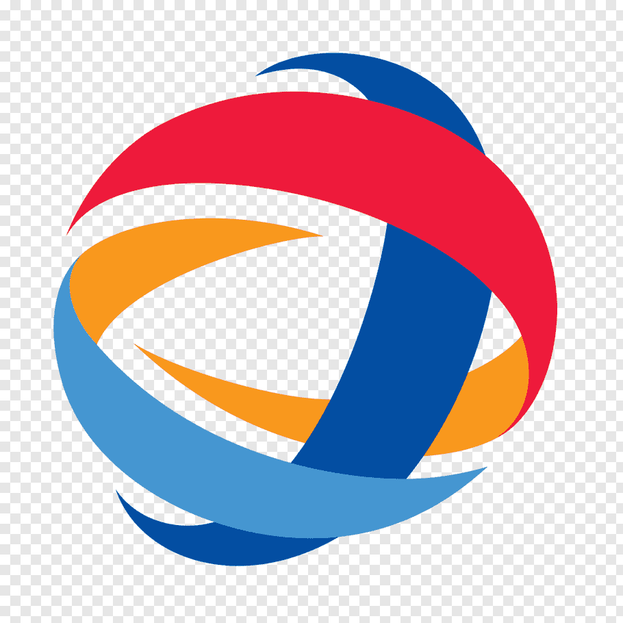 Total brand logo illustration, Total S.A. Logo Chevron.