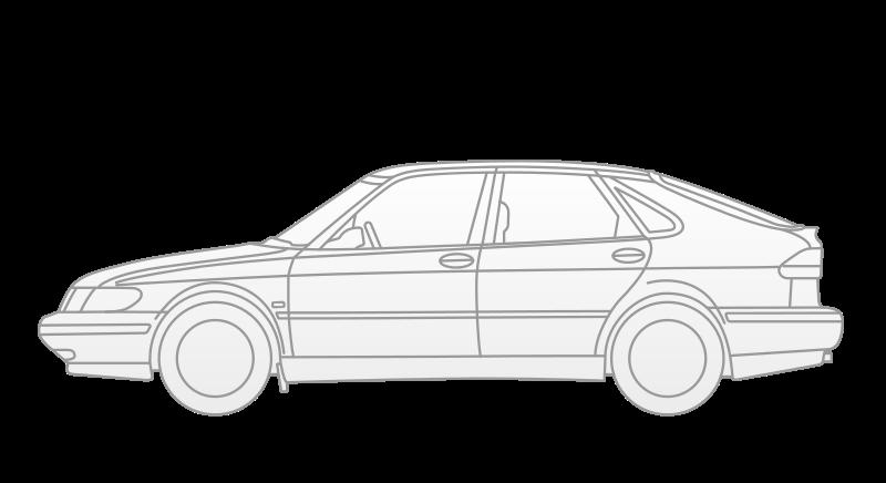 Free Clipart: Saab 9.