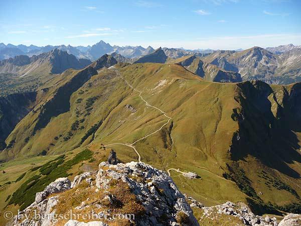 Saalfelder Höhenweg: Bergschreiber.com.