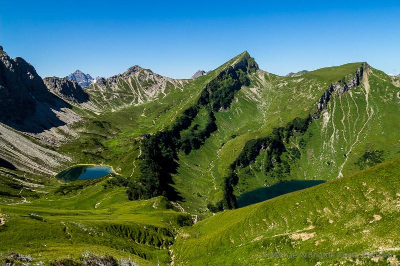 Saalfelder Höhenweg und Rauhhorn.
