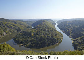 Stock Photographs of Mettlach (Saarland, Germany).