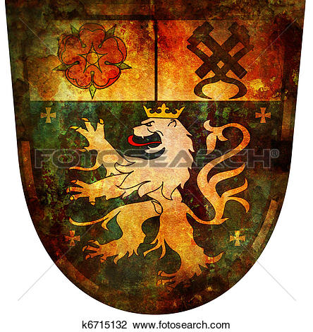 Clip Art of saarbrucken coat of arms k6715132.