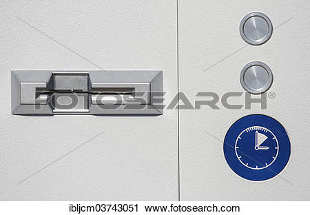 "Stock Photography of ""Detail, parking machine, Saarbrucken."