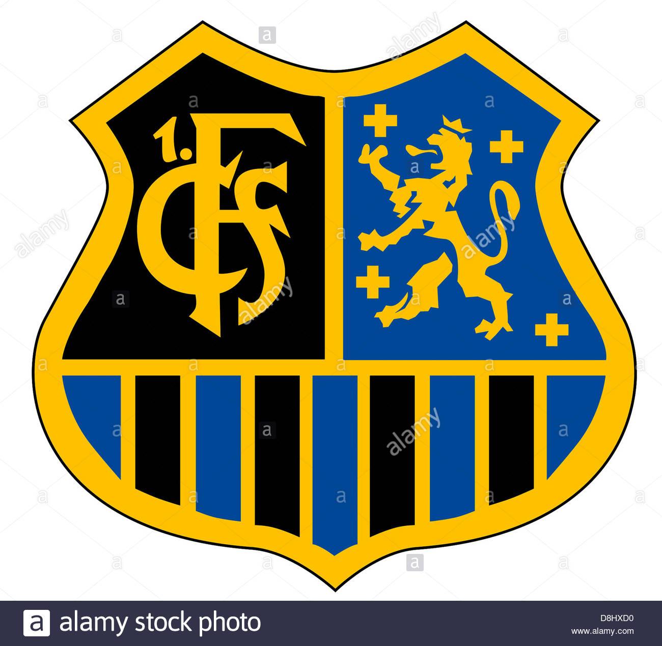 Logo Of German Football Team 1st Fc Saarbruecken Stock Photo.