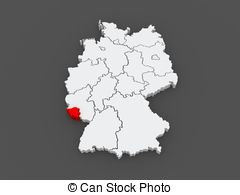 Map of saarland germany Illustrations and Clipart. 271 Map of.