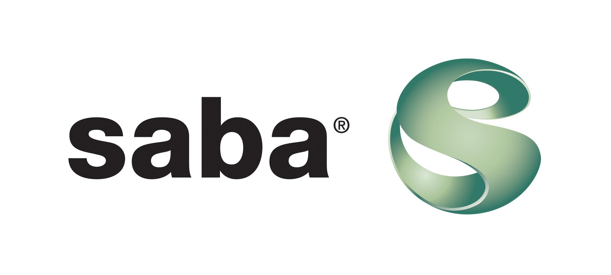 Saba logo.