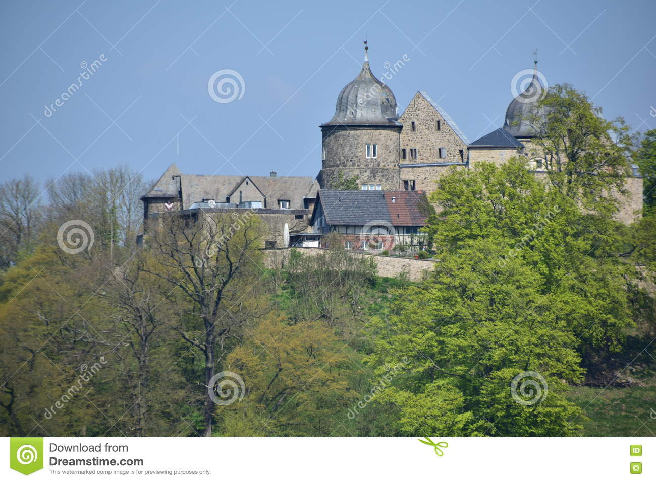 Sababurg Castle In Hesse Editorial Photography.