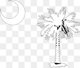 Free download Palmetto Sabal Palm Flag of South Carolina.