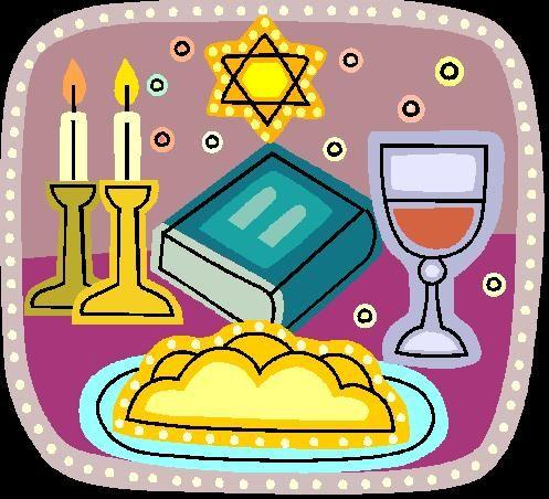 remember shabbat commandment jewish clip art.