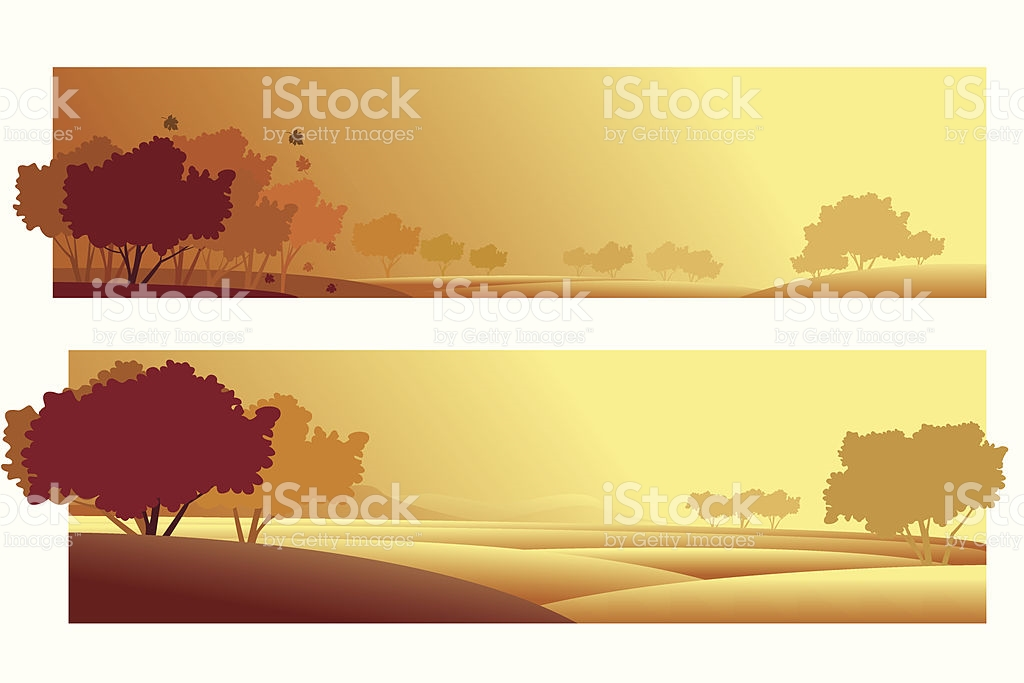 Schöne Herbst Hintergrund Mit Banner Vektor Illustration 165638346.