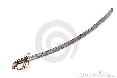 Saber Sword Clipart.