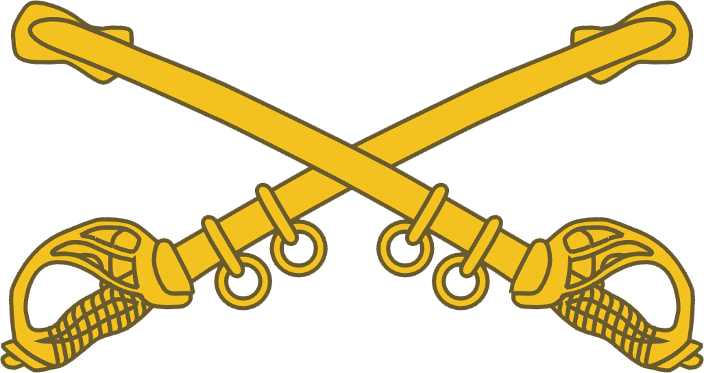 Cavalry sabers clipart.