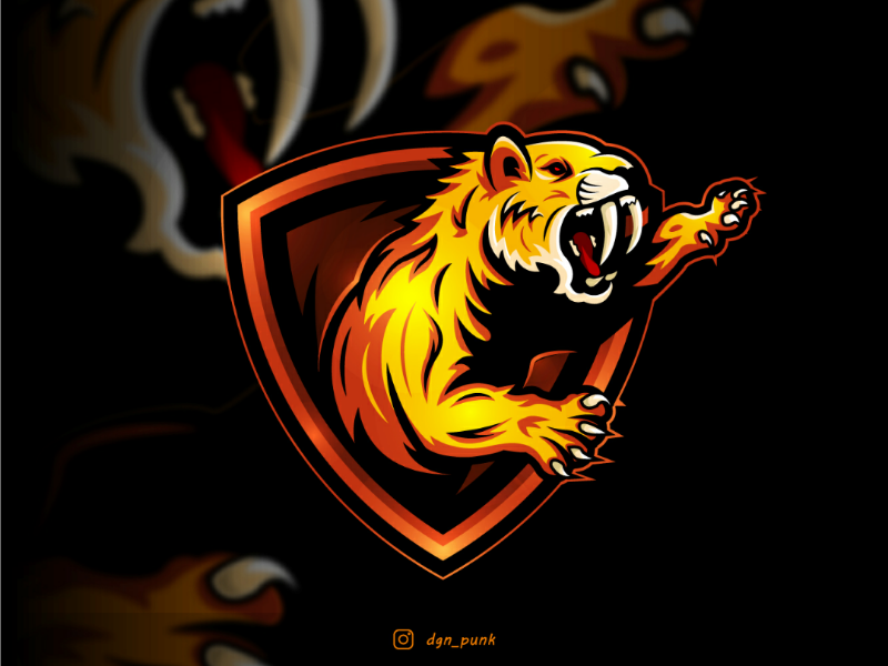 Sabertooth logo concept by Pratap on Dribbble.