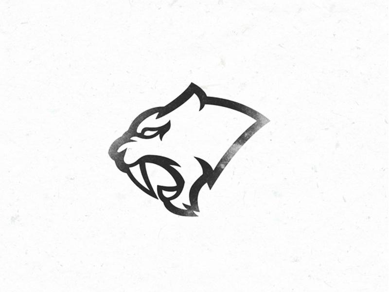 Sabertooth logo by Shalashov Evgeniy on Dribbble.