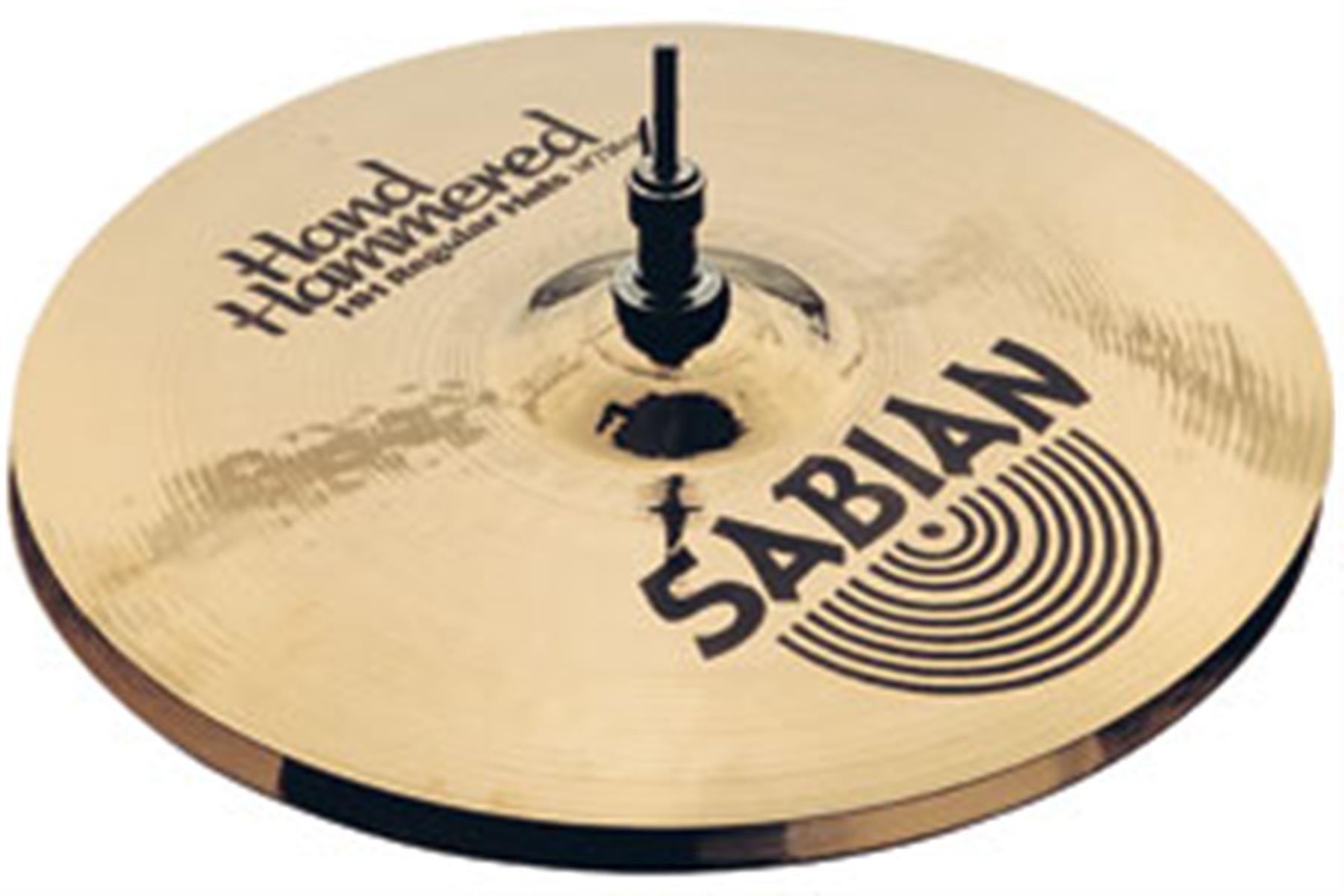 Sabian HH Hand Hammered 14\'\' Hi Hat Cymbal.