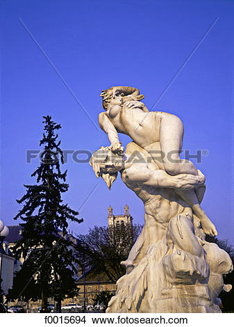 Stock Photo of France, Champagne region, Troyes, Rape of the.
