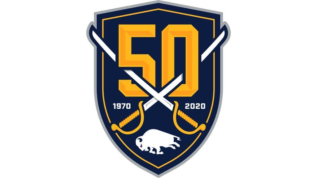 Buffalo Sabres unveil \'50th anniversary\' logo.