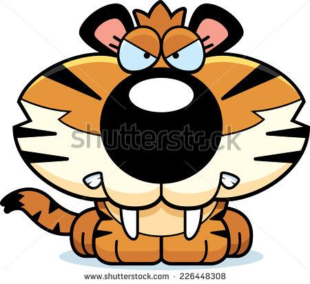 Saber Tooth Tiger Stock Photos, Royalty.