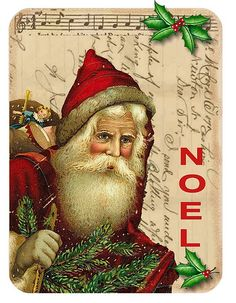 Santa cross stitch, Victorian and Father christmas on Pinterest.