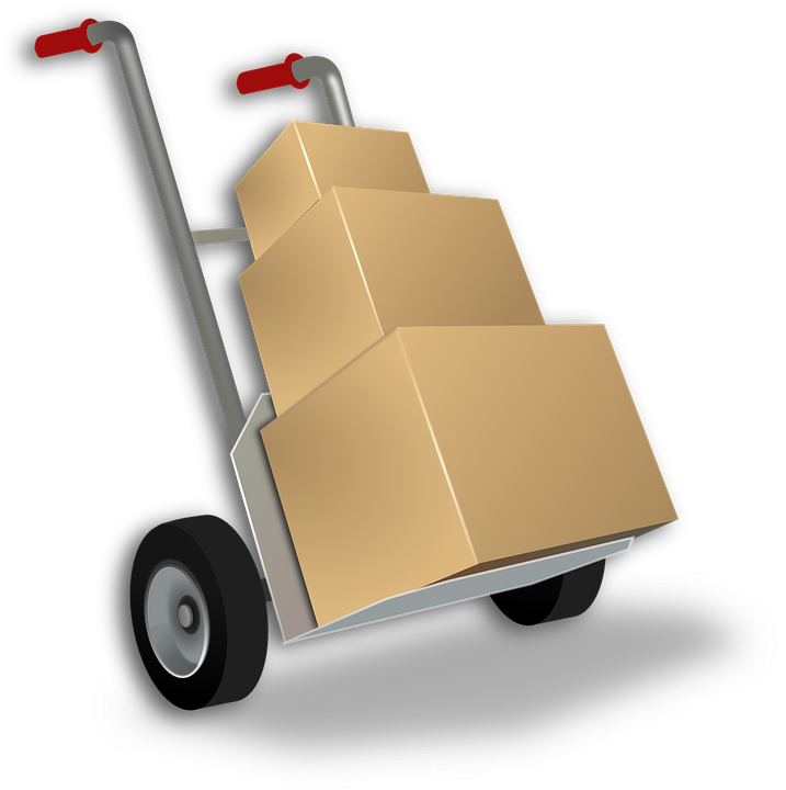 Free vector graphic: Sack Barrow, Load, Shipment.