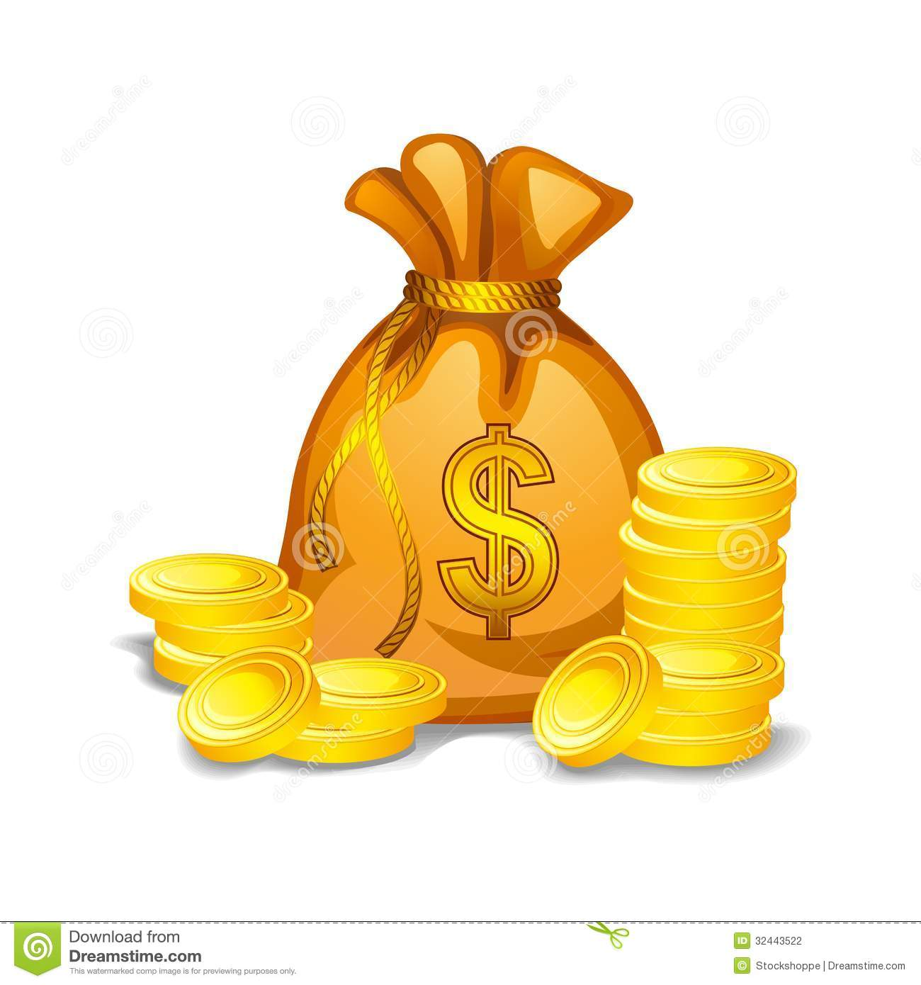 Gold Money Clipart.