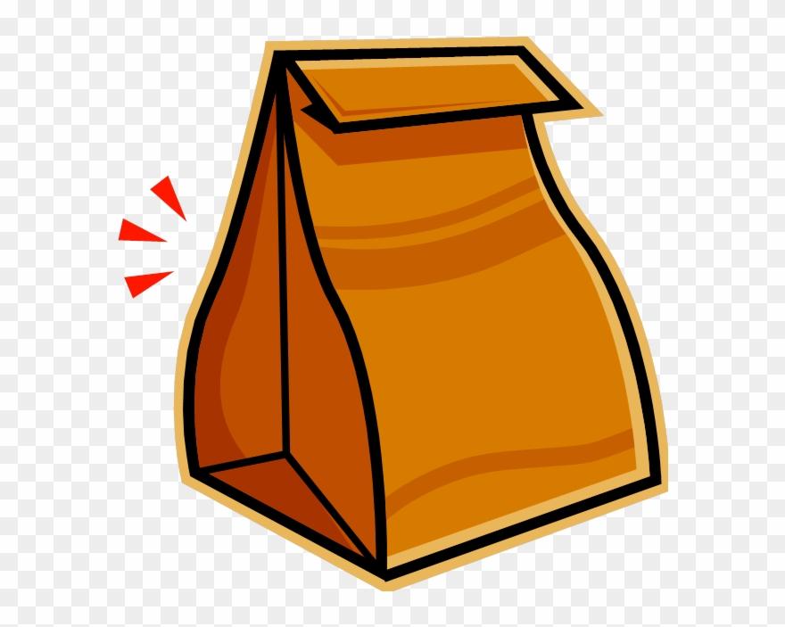 Clip Art Lunch Bag.