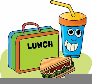 Free Sack Lunch Clipart.