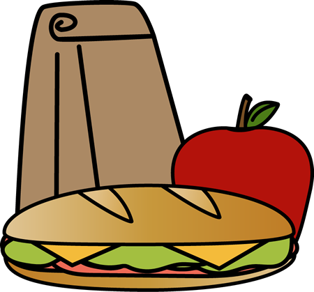 Clipart sack lunch.