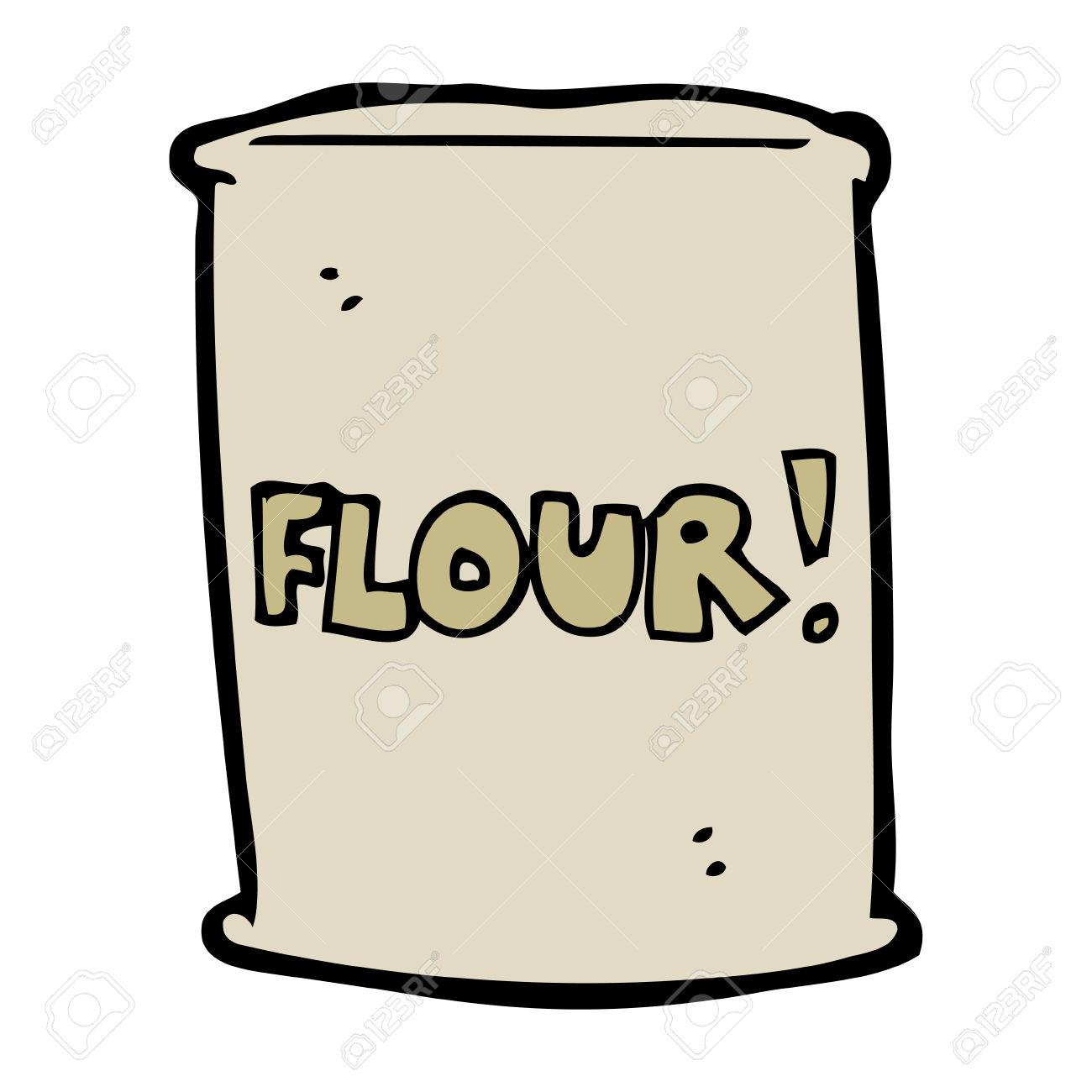 Flour Clipart.