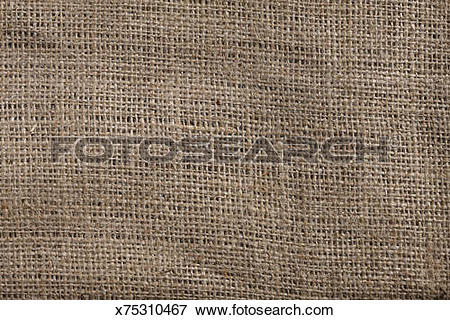 Picture of Jute, or sackcloth x75310467.