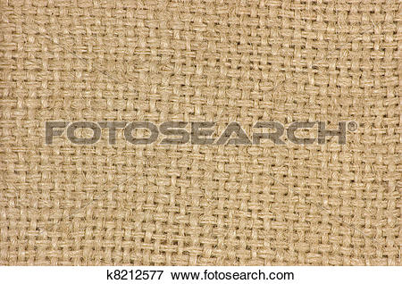 Picture of Natural textured burlap sackcloth hessian texture.