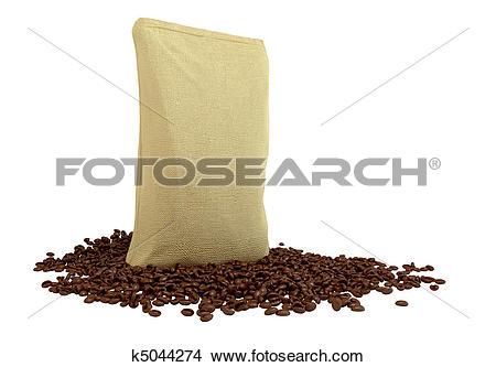 Drawings of Sacking Package on coffee beans k5044274.