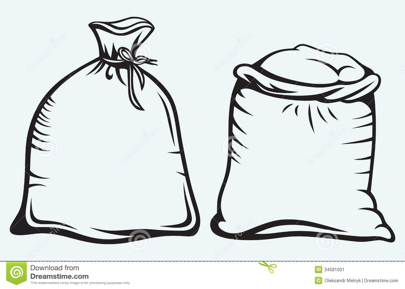 Sack Of Rice Clipart.