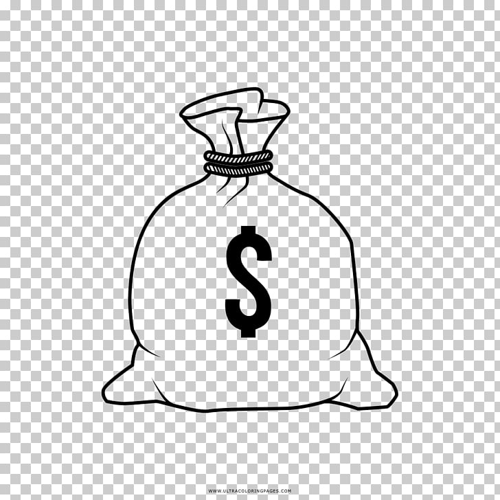 Drawing Coloring book Money , Saco PNG clipart.