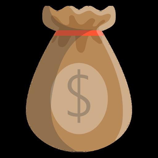 Ilustração de dólar de saco.