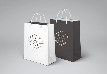 Shopping Bag PSD MockUp Clipart Picture Free Download.