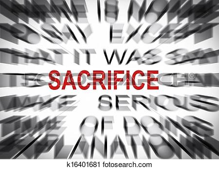 Sacrifice Clipart.