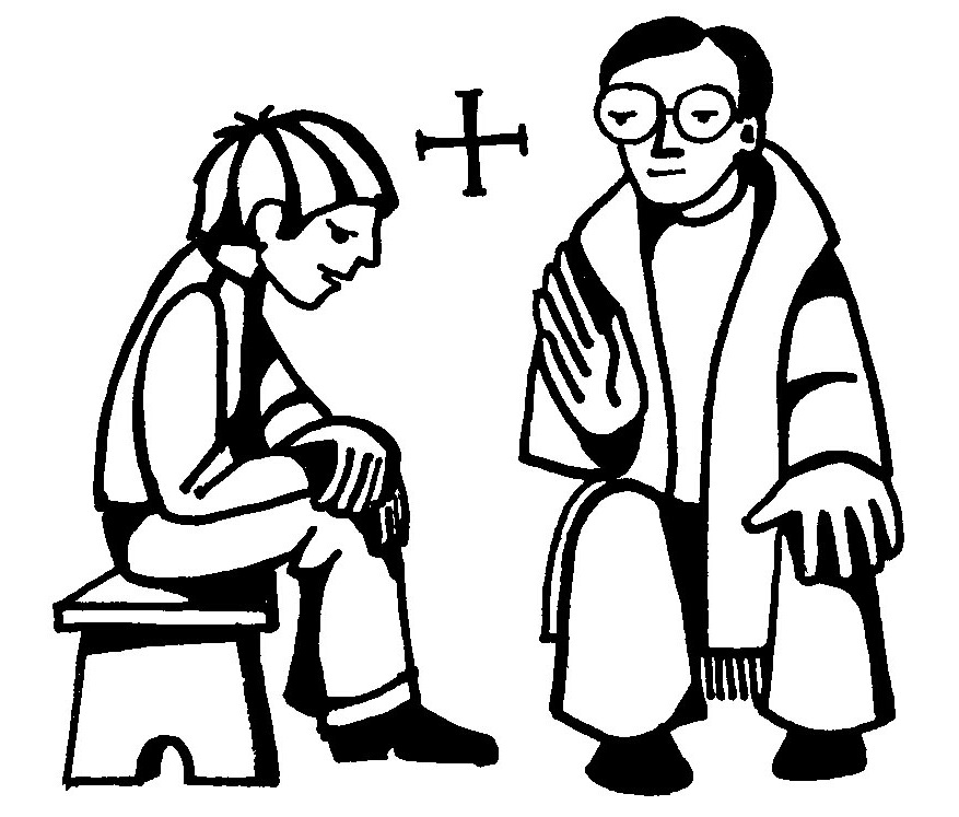 first confession clipart #8