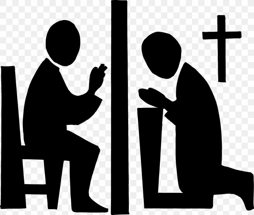 Sacrament Of Penance Confession First Communion Clip Art.