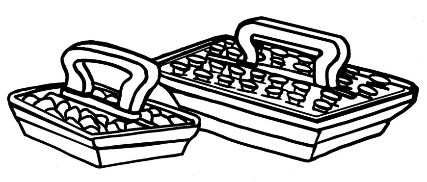 Sacrament Water Tray Clipart.