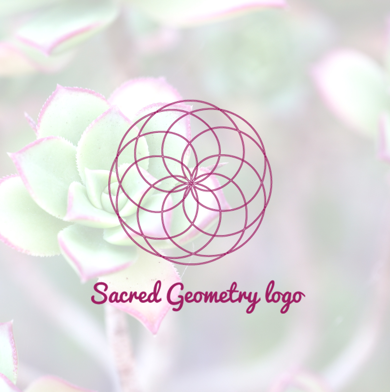 Sacred Geometry Logo.