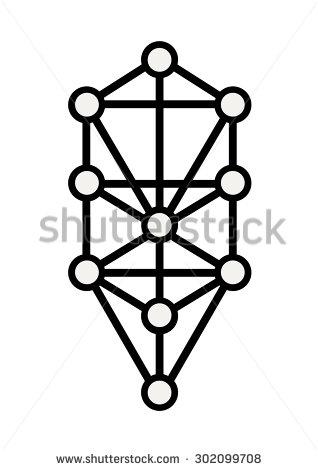 Sacred Geometry Tree Life Flower Life Stock Vector 302099708.