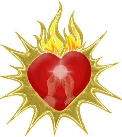 Sacred Heart Clip Art.