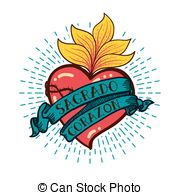 Sacred heart Stock Illustrations. 665 Sacred heart clip art images.
