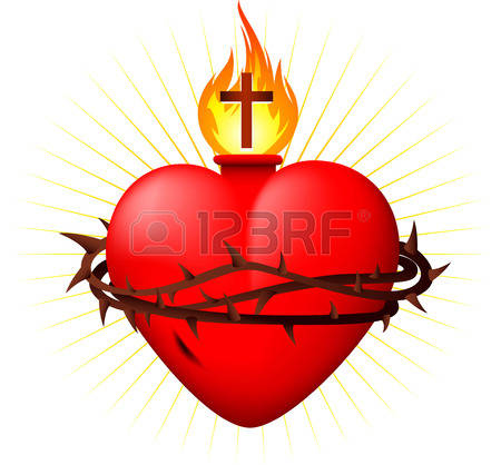 920 Sacred Heart Stock Vector Illustration And Royalty Free Sacred.
