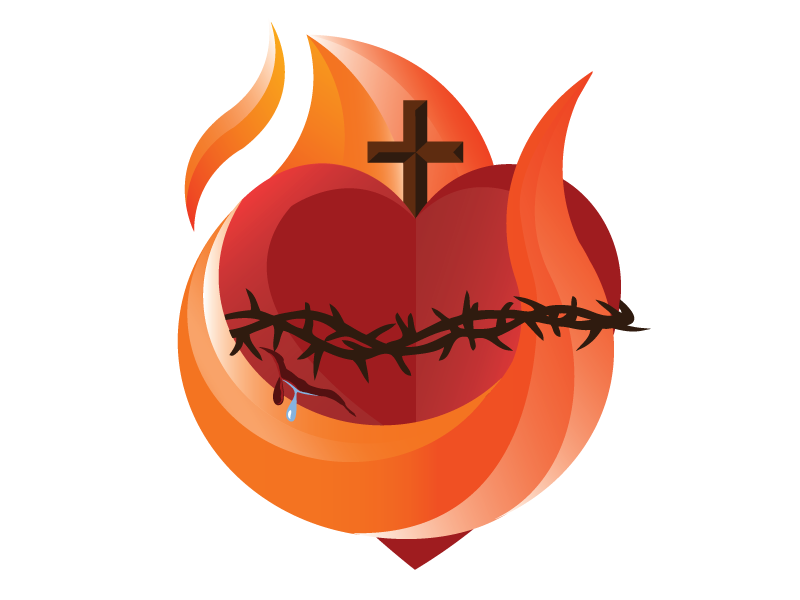 Sacred Heart by Nicholas Lowry on Dribbble.