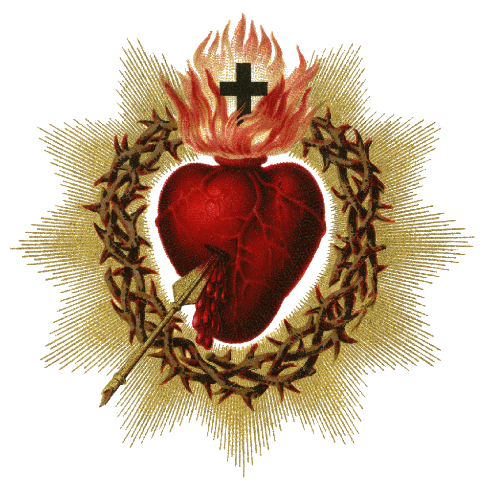 Sacred Heart Of Jesus Png & Free Sacred Heart Of Jesus.png.