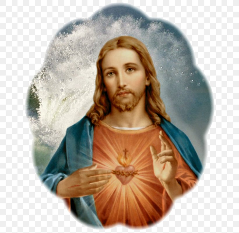 Jesus Sacred Heart Immaculate Heart Of Mary Litany, PNG.
