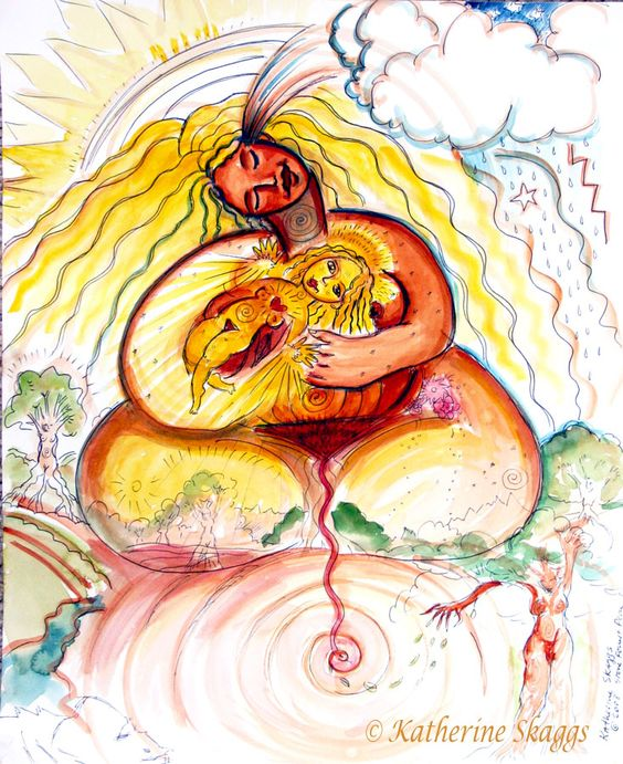 A Woman's Wombs carries the Sacred Light Codes of Creation. It is.